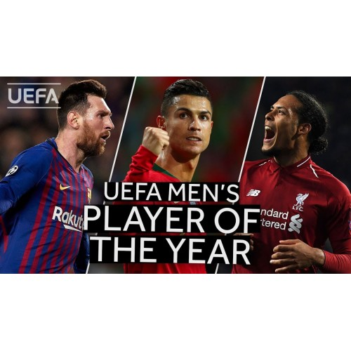 Ronaldo, Messi, Van Dijk nominován za UEFA Player roku